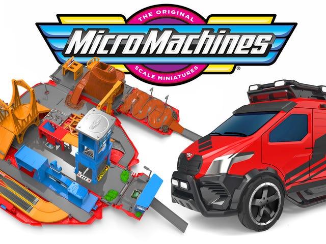 Mikromaskiner er den nyeste 80'ers legetøjslinje tilbage fra de døde
