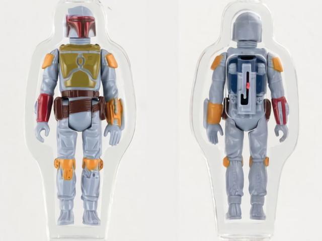 Ai đó đã trả gần 200.000 đô la cho món đồ chơi Star Wars này chưa bao giờ được bán.