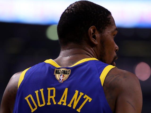 Kevin Durant será um agente livre