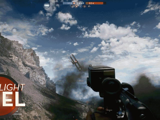 Ah, <i>Battlefield 1's</i> İnsanlığı <i>Battlefield 1's</i> Zeplin Patlamaları