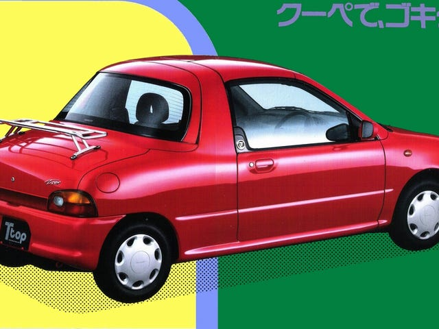 The Subaru Vivio T-Top Was An Actual Car In Spite Of What You May Think