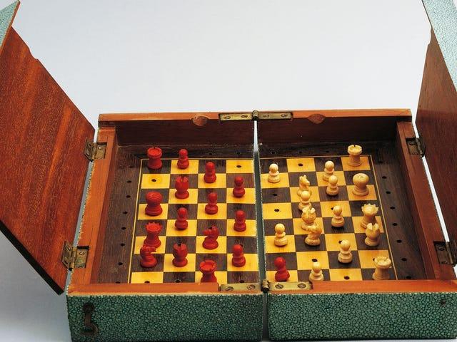 Denne nye Chess Championship-logoen er helt ned til å knulle