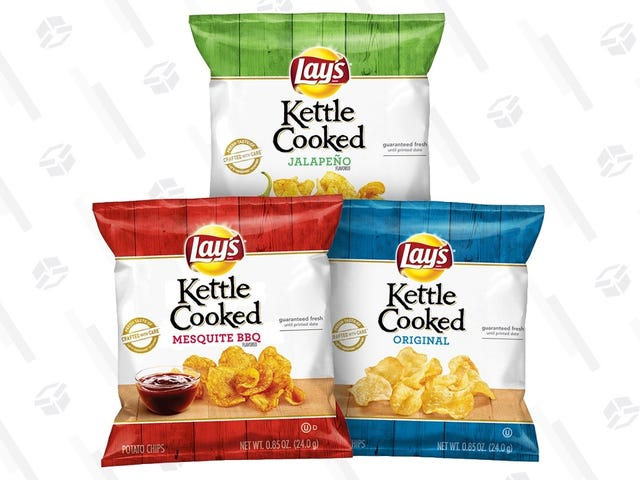 Munch On 40 Bags of Kettle Chips For $10