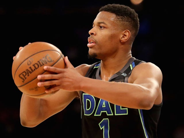 Dennis Smith Jr. With The Bounce Pass To Dennis Smith Jr. For The Dunk