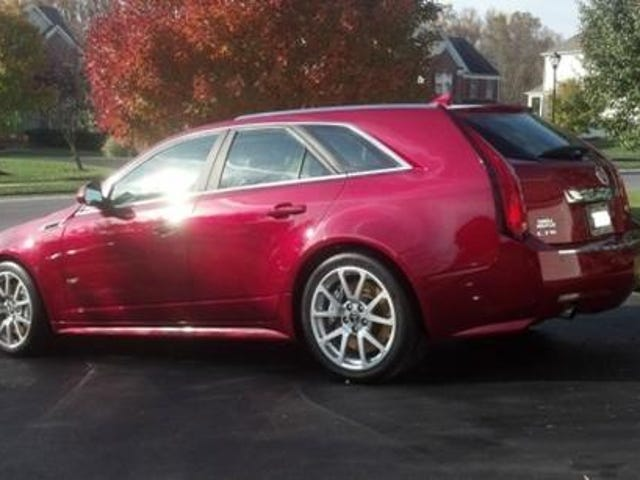 Manual CTS-V wagon for under $40k