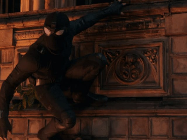 Spider-Man: Far From Home's Stealth Suit Was Almost Too Cool for Peter Parker