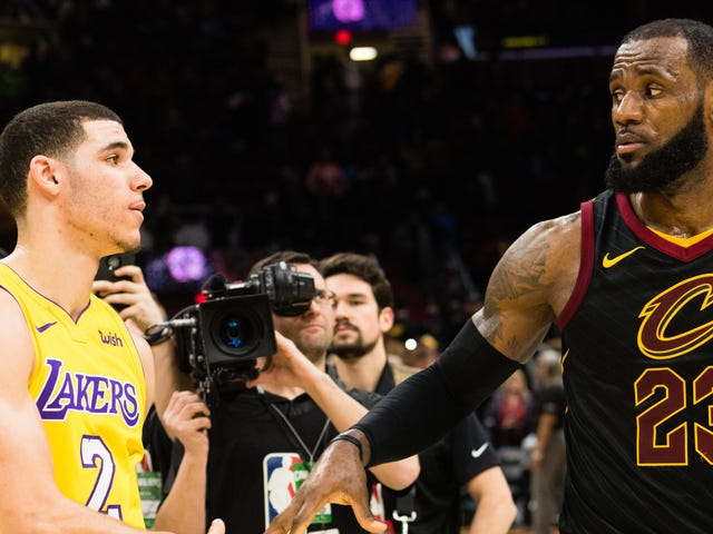LeBron James Trusts The Lakers