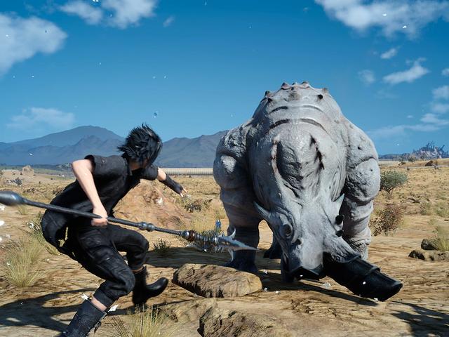 <i>Final Fantasy XV</i> : n johtaja sanoo löytävänsä skorpionien Microsoftin konferenssissa