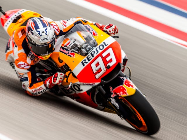 All The Fast Bikes Of MotoGP Have Descended Upon Austin