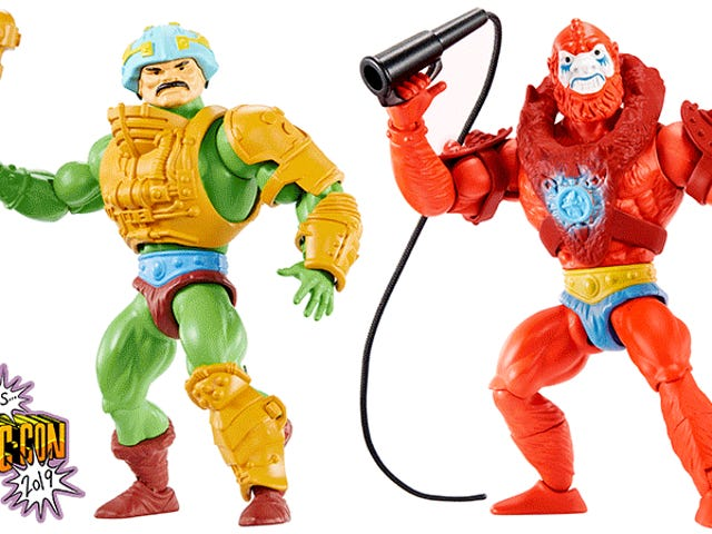 Mattel Is Bringing Back the Original Vintage He-Man Figures Now Packed With Articulation [Updated]