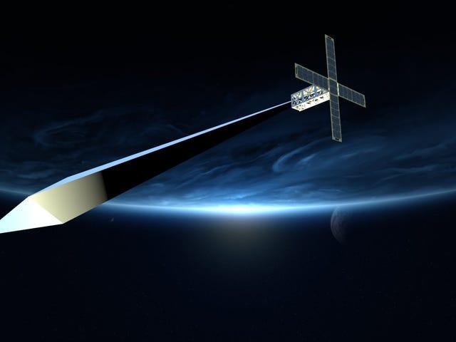 La escultura orbital se mantiene flácida debido al cierre del gobierno