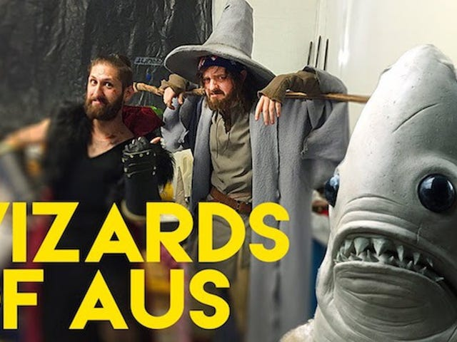 <i>The Wizards of Aus</i>魔術師 - 移民問題と魔法を融合させるコメディシリーズ