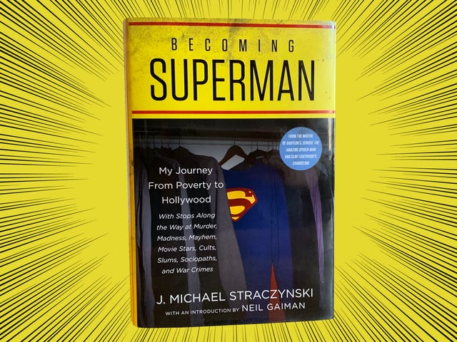 Becoming Superman is both a gruesome and mundane portrait of the creator of Babylon 5