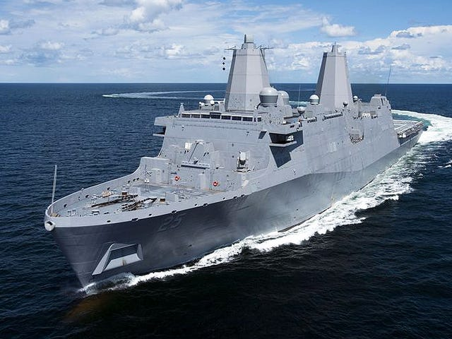Lockheed Wants To Install Its Aegis Combat System On New Amphibious Transport Dock Ship