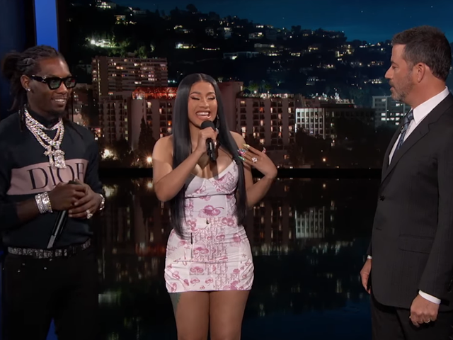 Watch Offset and Cardi B Do Anything—Like Translate Their Lyrics—for 'Clout'