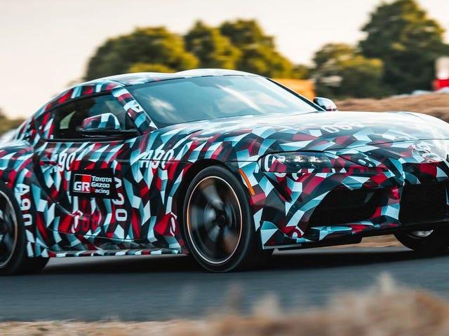 Toyota's Performance Boss Already Wants a Lighter, Track-Ready Supra