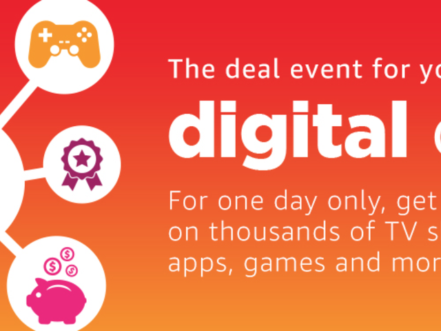 Save Big On Music, Games, Movies, Tax Software, and More During Amazon's Digital Day Event