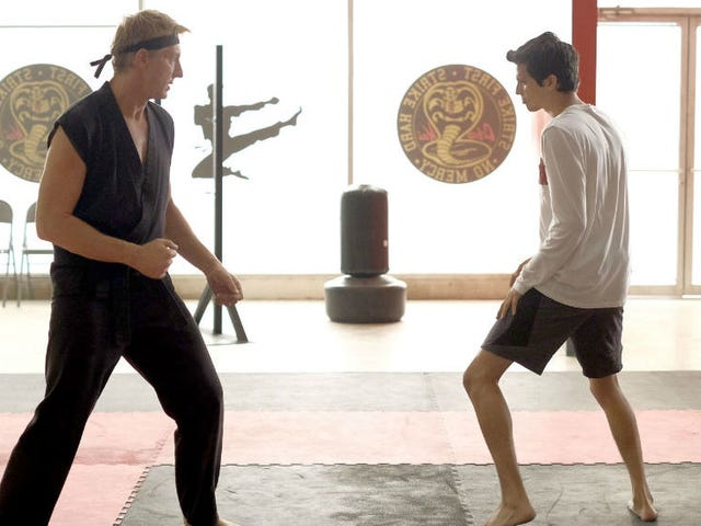 The Creators and Stars of Cobra KaiDiscuss Being Respectful to the World of The Karate Kid