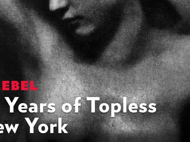 Som Fall Beckons, låt oss fira 25 år av rätten att gå Topless i New York