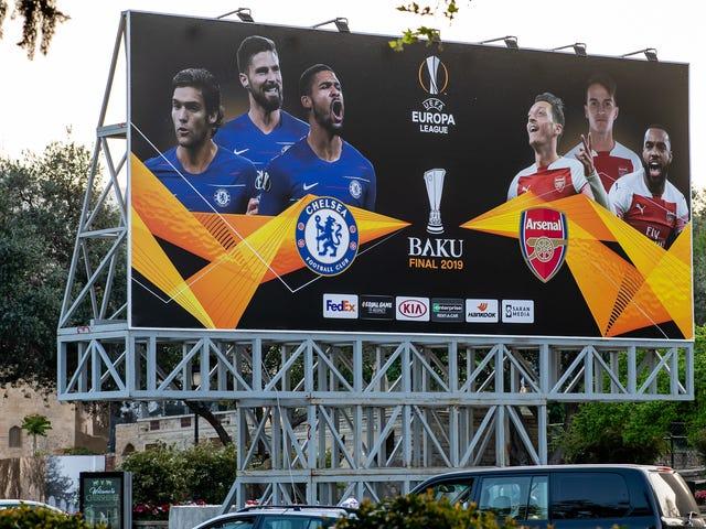 La final de la Europa League va a ser un desastre con poca asistencia
