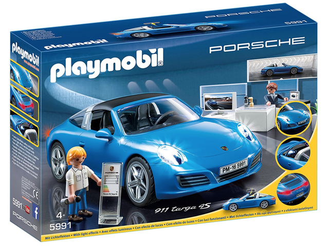 Let Your Child Experience The Joys Of Leasing With This Porsche Dealership Playset