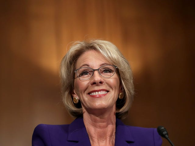 Betsy DeVos Tells Students Not to be Mean on Twitter. Student Responds: What About Your Boss?
