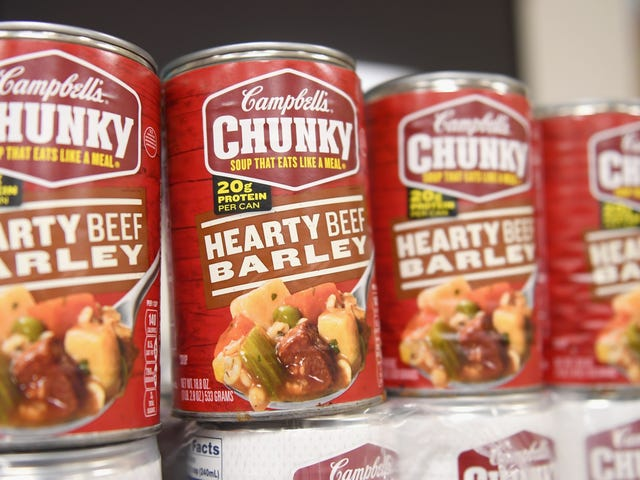 "Campbell's trademarks ""chunky,"" all other soups now ""lumpy"" and ""with large bits"""