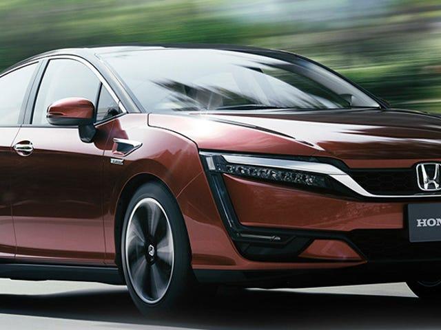 El auto de hidrógeno de Honda tendrá una versión híbrida normal para asegurarse de que alguien lo compre