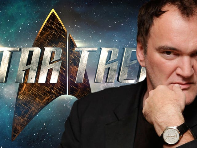Why No One Needs to Worry (Yet) about Quentin Tarantino Making a Star Trek Movie
