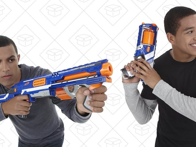 Go Hog Wild With a Pair of Prime Day Nerf Gun Deals