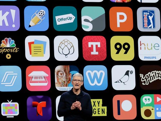 Apple Yanks QAnon-aiheinen App App Storesta Toimittajien ilmoitus, vielä Play Store Vaikka