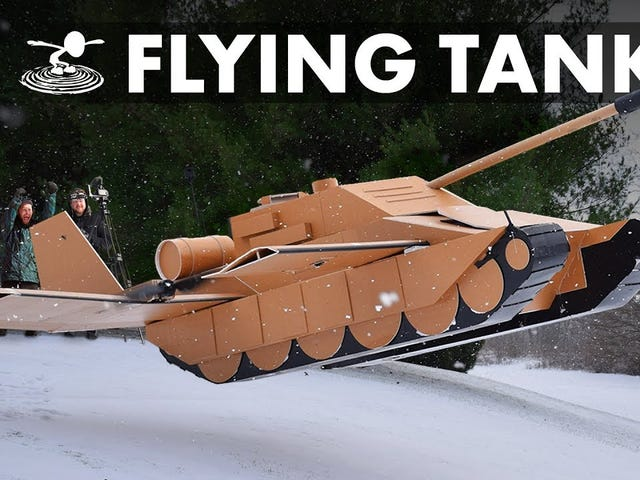 When tanks fly