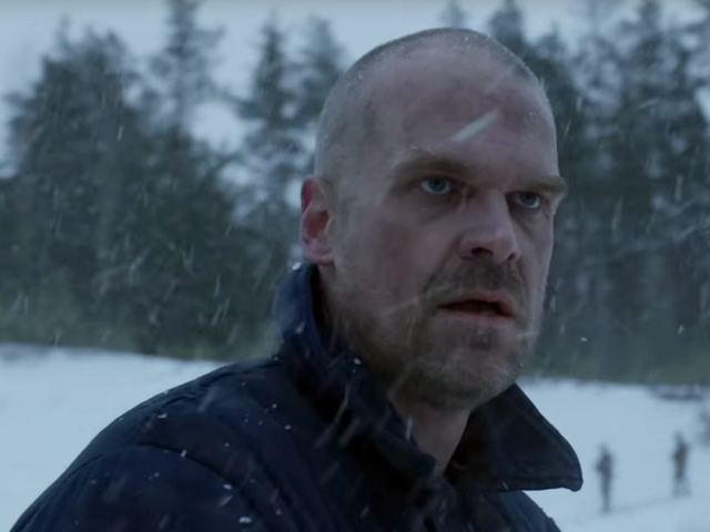 David Harbour Says Hopper Is Going Through a Major Transformation in Stranger Things Season 4