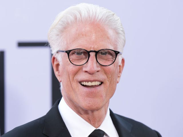 Ted Danson, method actor, took his Good Place flossing very seriously