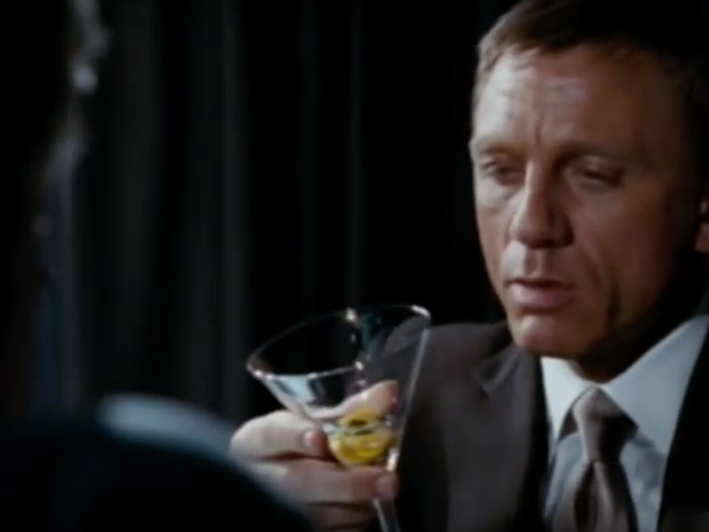 Live and let drink: Study concludes that James Bond has an alcohol problem