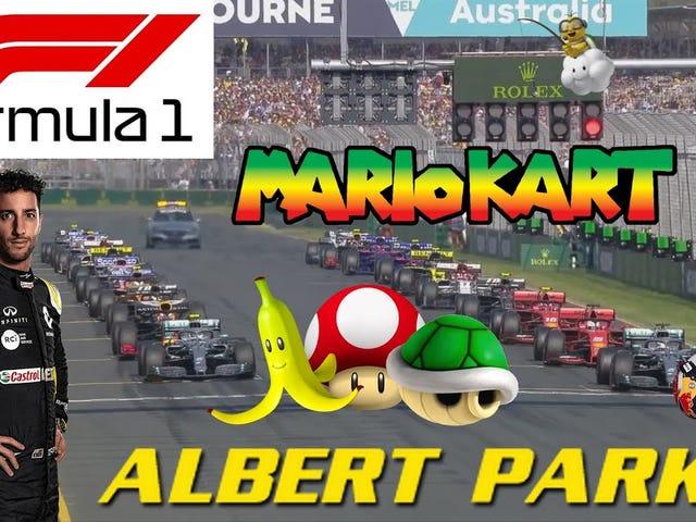 F1 x马里奥赛车
