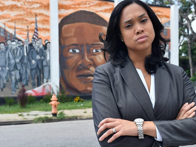 Marilyn Mosby Treated Baltimore Cops the Way Cops Treat Everyone Else; Now They're Coming for Her