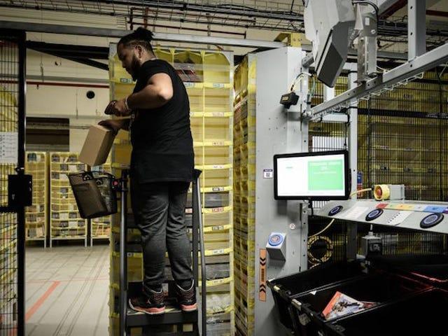 Fransk domstol stanser Amazons levering av ikke-essensielle produkter under pandemi for å beskytte arbeidere