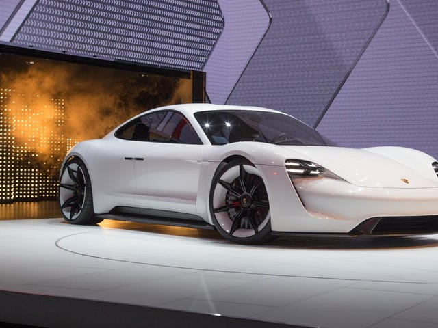 The Porsche Mission E Is Now, Uh, The Porsche Taycan