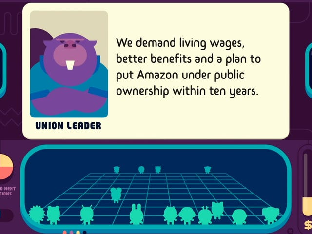 Democratic Socialism Simulator Lets You Tax The Rich, Nationalize Amazon