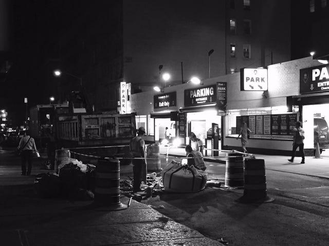 Cuatro horas en Nueva York Noir: Parte 3, dando vueltas