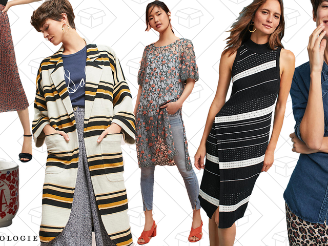 With an Extra 25% Off, You're Gonna Want to Dig Through Anthropologie's Sale Section