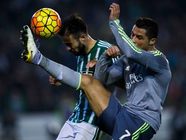 Cristiano Ronaldo Should Probably Stop Hitting People