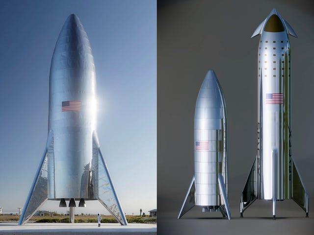 SpaceX prueba con éxito el escudo térmico de su nave interplanetaria