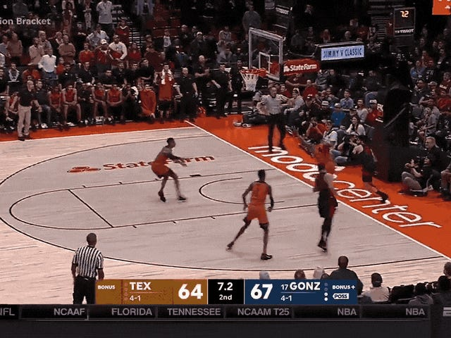 Texas Comes Back From Down Five With 10 Seconds Left, But Loses In OT
