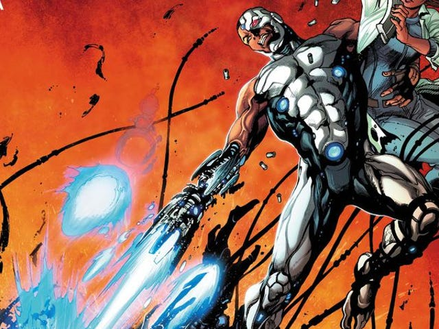 Exclusive DC preview: Vic Stone fights to save Detroit in Cyborg #3