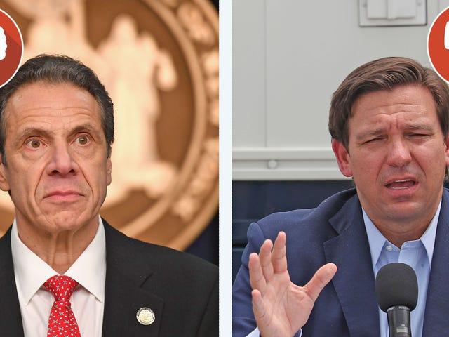 Dois governadores, dois partidos, a mesma insanidade nos esportes