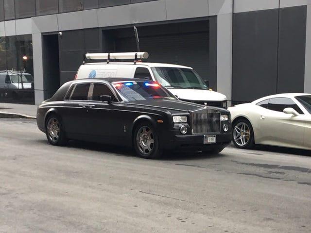 Possible Hatzolah Volunteer Ambulance Service Rolls Royce Phantom Spotted
