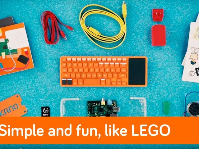 Teach Your Kids to Build and Program a Computer With the Kano Kit, Now Just $105