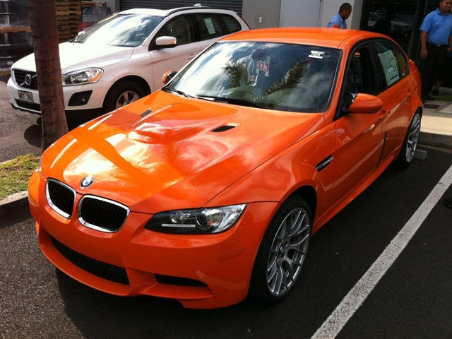 Of the 45 manual E90 M3s currently available for sale in the U.S. on Autotrader...
